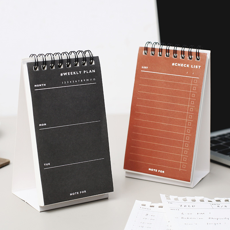 Creative Daily Weekly Plan Paper Memo Pad Notepad Stationery Scrapbooking Memo Notes Check List To Do List Checklist Note Pad