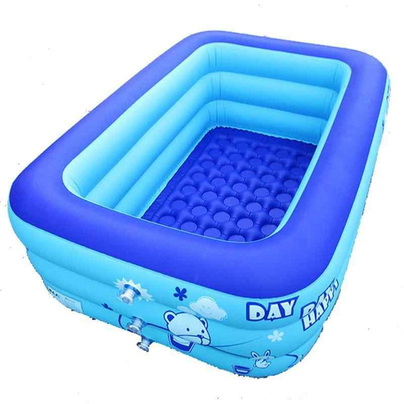 Enviar tubería de drenaje alrededor de 1,2 M 3-nivel piscina bañera de Niños Infantes inflables niños de juguete piscina hogar