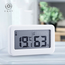 Ultra-thin simple electronic digital thermometer and hygrometer baby room home thermometer indoor dry hygrometer thermometer