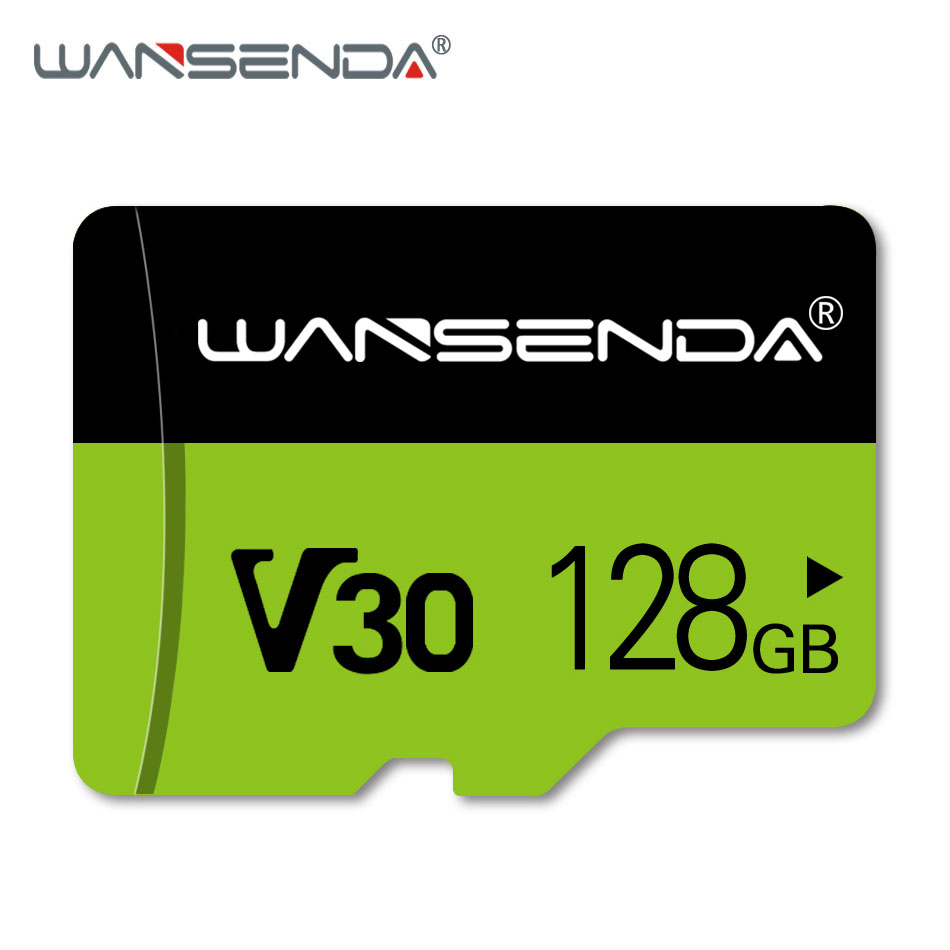WANSENDA Micro SD Card Memory Card 128GB 64GB 32GB 16GB CLass 10 V10 Mini TF Card Trans Flash Card For Smartphone/PC