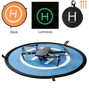 Szybkie składanie dla DJI Mini 2 podkładka do lądowania uniwersalne maty parkingowe dron FPV 55 75 110cm dla DJI Air 2S Mavic Air Mini 2 Pro akcesoria tanie i dobre opinie BRDRC CN (pochodzenie) Landing Pad For DJI Mavic Mini RC Drone