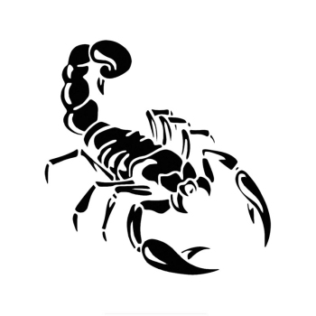 PLAY COOL Cute 3D Scorpion Styling Car Stickers Automobiles Motorcycles Exterior Accessories Vinyl Decals for Bmw Audi Ford Kia недорого