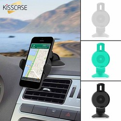 KISSCASE 360 Degree Car Phone Holder Windshield Mount Car Holder Phone Stand For iPhone 11 XR 7 Cellphone Xiaomi Stand Support