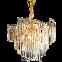 Modern crystal chandelier LED living room bedroom bar counter restaurant interior lighting decoration lamps gold
