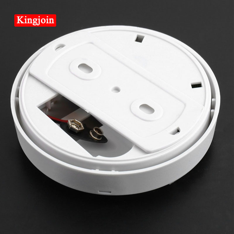 KINGJOIN High Sensitive Smoke Detector Wireless Photoelectric Smoke Detector For Home Usage Fire Alarm System Smoke Alarm