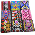 5 yards/lot 10cm wide african lace fabric wedding dress Ribbon embroidered lace Stage costume accessories lace trims Ribbon Lace