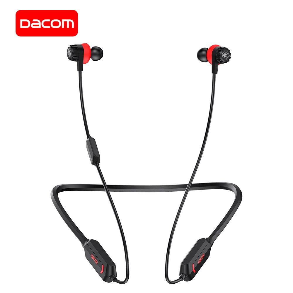 DACOM GH02 цветная (RGB) подходит для ответа на звонки и прослушивания музыки для наушников Apt-X Беспроводные наушники с микрофоном, 3D стерео Bluetooth г...