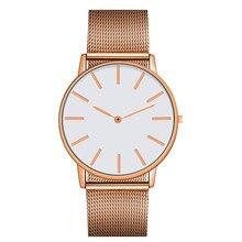 Модные кварцевые часы с разноцветными тканевыми часами из нержавеющей стали, наручные часы, простые дизайнерские женские и мужские часы