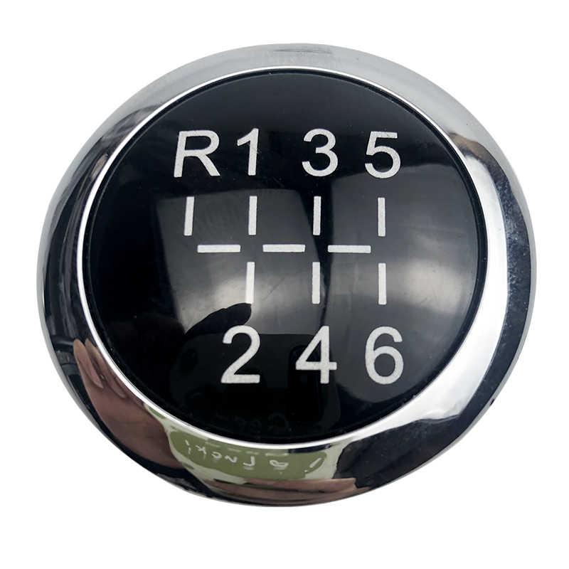 5/6 Velocità Auto Leva Del Pomello Del Cambio Coperchio Superiore Cap Emblema Per VAUXHALL OPEL ASTRA III H CORSA D 2004 -2010 Car Styling Accessori
