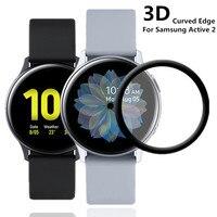 20D Display-schutzfolien Film Weiche Für Samsung Galaxy Uhr Aktive 2 40mm 44mm Volle Abdeckung Gebogene Kante Schutzhülle kratzfest