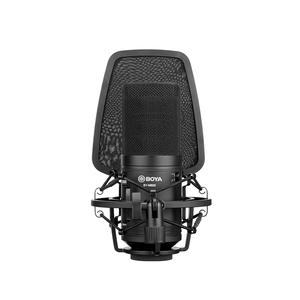 Image 3 - BOYA ميكروفون مكثف احترافي M1000 ، كبير ، مرشح منخفض القطع ، ميكروفون قلبي ، للتسجيل المباشر ، استوديو الفيديو ، Vlog ، كاميرا الفيديو