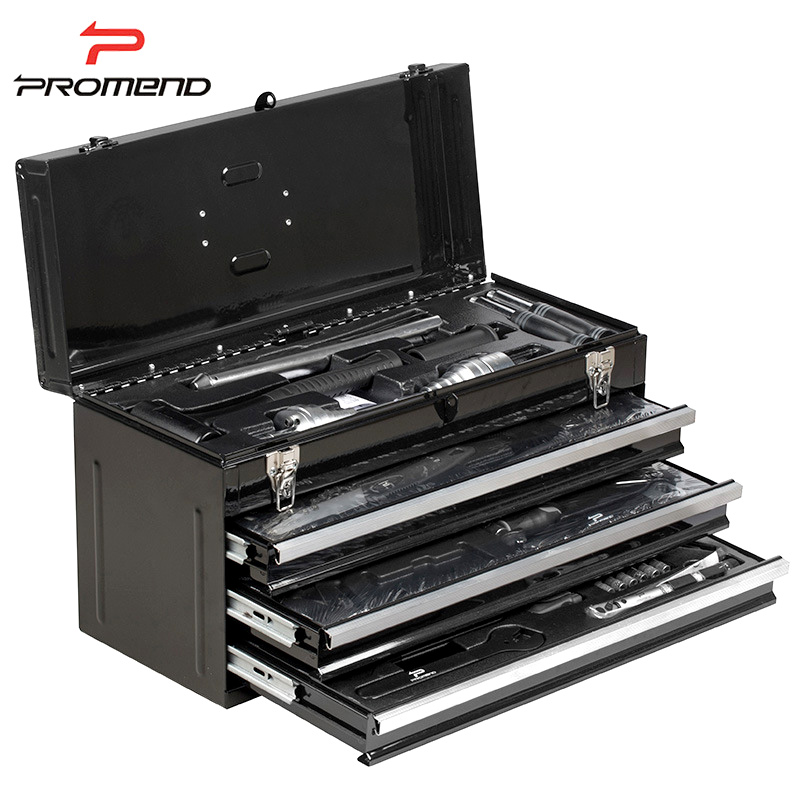 PROMEND MTB Road Bike Bicycle Professional 27 In 1 Comprehensive Multifunction Combination Four Layers Repair Tools Box Case
