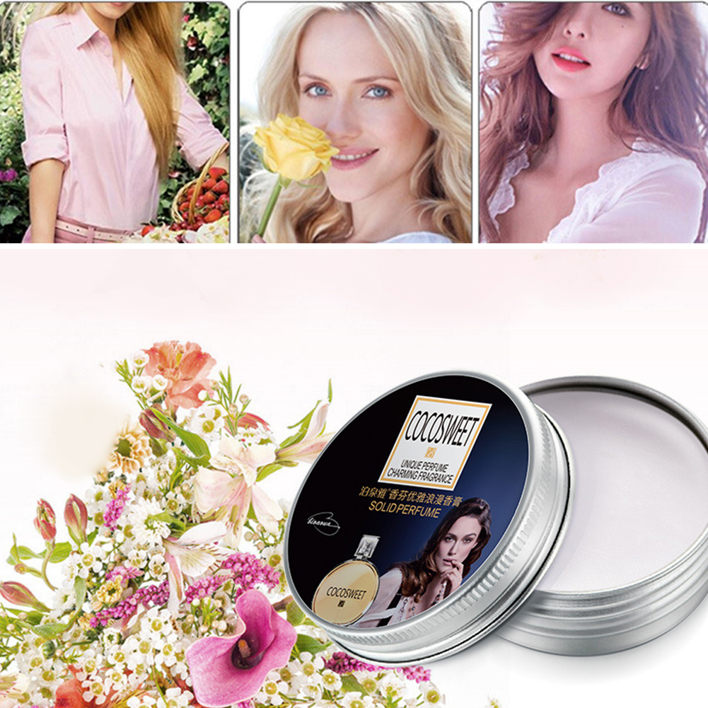 Reduce Blemish Anti Wrinkle Smooth Moisturizing Portable Acne Round Skin Care Brightening Romantic Solid Perfume