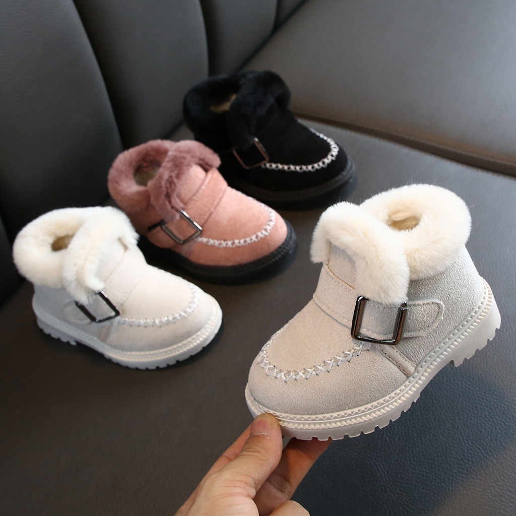 Kids Shoes Baby Girls Boots Boys Shoes Ankle Sport Short Kids Boots Casual Shoes Winter Froze Boots Girls Jongenslaarzen Botas