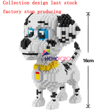 Mini Block Building-Toy 1350pcs-Bricks Animal Poodle-Model Children Dog Pet-16015 Dalmatians