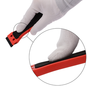 Image 4 - EHDIS 2pcs Carbon Fiber Vinyl Stickers Remover Razor Blade Scraper Car Cleaning Tool Glass Tint Windshield Wiper Clean Squeegees