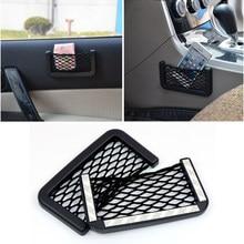 1pcs Car Mesh Net Bag Car Organizer Seat Back Storage Bag for Peugeot 206 207 307 3008 2008 308 408 508 301 208 car Accessories