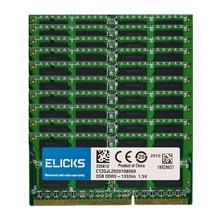 10 pces lote 2gb PC3-1333MHZ ram ddr3 10600mhz 204pin 1.5v SO-DIMM ram memória do portátil