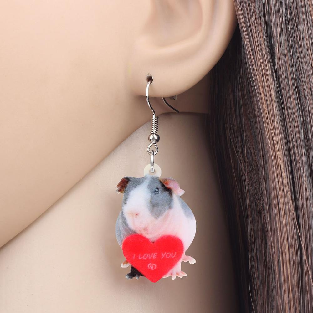 Heart Mouse Earrings 3