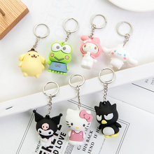 Hello Kitty key chain key chain Kuromi KT Keychains Women Girls Charm Bags key chain Accessories My Melody Key ring 2020(China)