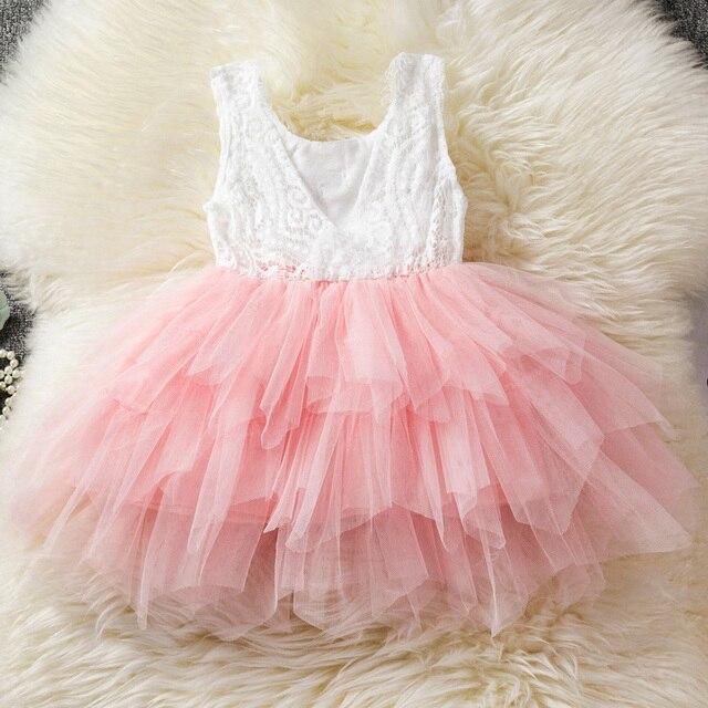 Kids Birthday Dress / Party Dress for Baby Girls 4