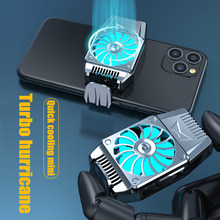 Universal do telefone móvel usb jogo sistema refrigerador ventilador de refrigeração gamepad suporte radiador para iphone xiaomi huawei samsung telefone