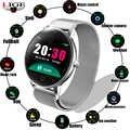 LIGE mujer reloj inteligente Monitor de salud Frecuencia Cardíaca/presión arterial/podómetro impermeable hombres y mujeres deportes smartwatch N58