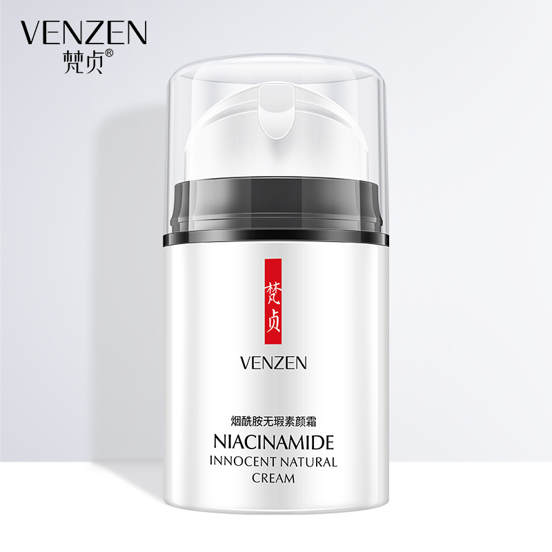 Venzen Nicotinamide Innocent Natural Day Creams Moisturizing Face Cream Anti Aging Whitening Brighten Skin Care Smooth Ointment