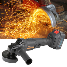 FOGO Cordless Angle Grinder 128FTV Lithium-Ion 18000mAh Grinding Machine Cutting Electric Angle Grinder Grinding Power Tool цена и фото