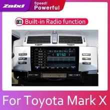 ZaiXi 2din Car multimedia Android Autoradio Radio GPS player For Toyota Mark X 2004~2009 Bluetooth WiFi Mirror link Navi