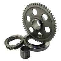 Motorcycle Starter Clutch Gear Assy Kit For Yamaha Raptor 660R 660 R YFM660R YFM 660 R YFM 660R 2001 2003 5LP 15515 10 00