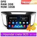 Мультимедийный видеопроигрыватель для hyundai creta ix25, 4G, Android, 2 Din, радио, навигация, GPS, аудио, 2din, 2015, 2016, 2017, 2018, 2019