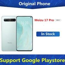 Celular original meizu 17 pro 5g, smartphone com snapdragon 865, android 10.0, tela de 6.6