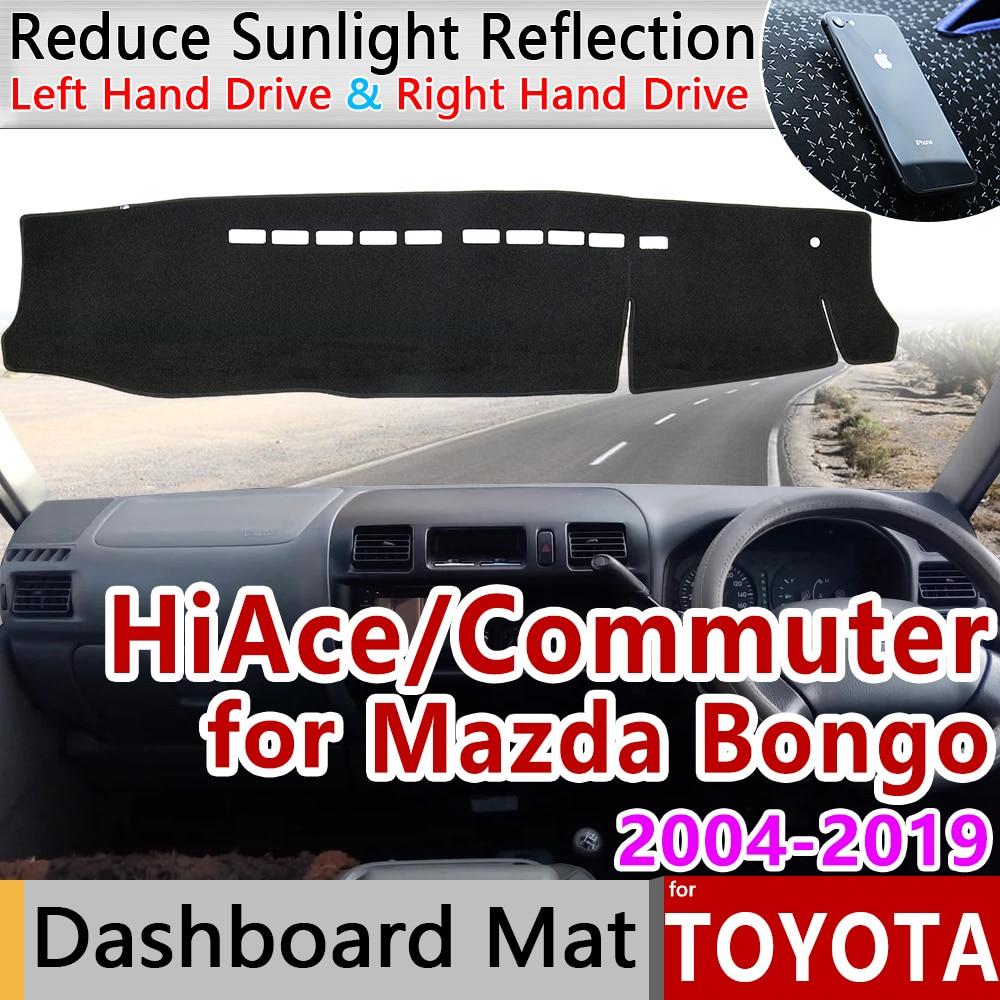 MAZDA BONGO WHITE TRIM EDGE CAR FLOOR MAT SET