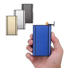 Модный чехол для сигареты с автоматическим выбросом портативный