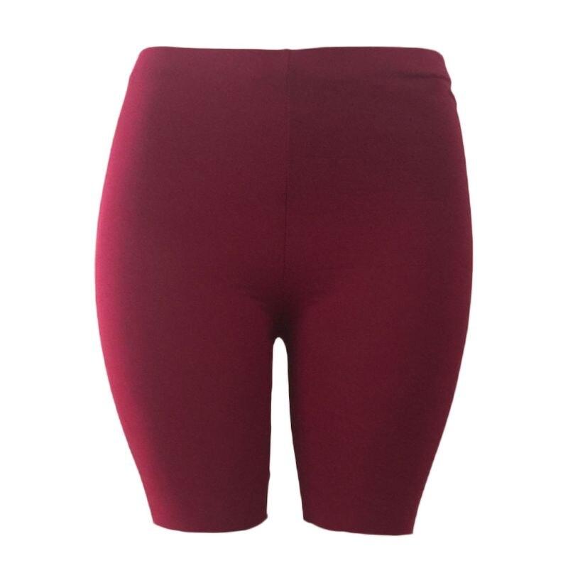 Womens Fitness Half Tights High Waist Quick Dry Skinny Yoga Bike Shorts Leggings 124F