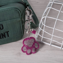 Diy Diamond Painting The Bear's Paw Toy 5d Diamond Painting Keyring Key Chain Pendant Gift Backpack Decoration Kids Gift 2019(China)