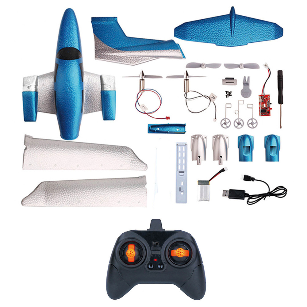 DIY Fixed Wing EPP RC Plane Foam Remote Control Aircraft GD006