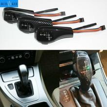 For BMW 1 3 5 6 X1 X3 X5 Z4 Series LED Gear Shift Knob E39 E53 E38 E60 E61 E46 E63 E90 E92 E93 E81 E82 E87 E88 E89 Shifter Lever