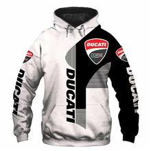 Sudadera con capucha con logotipo de TM Racing para hombre y mujer, ropa con impresión Digital 3D, jersey de tendencia de moda,