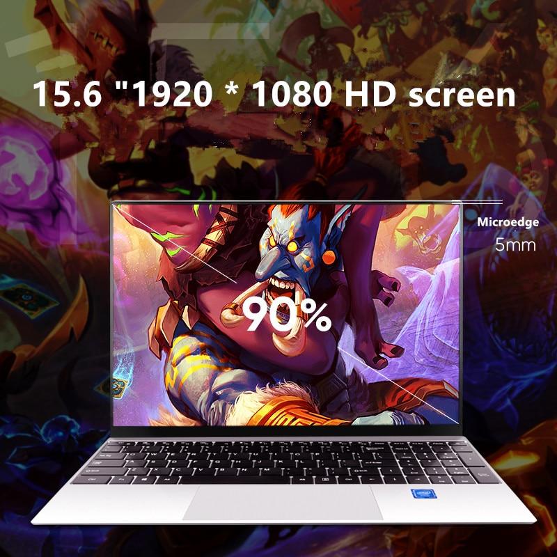 15.6 Inch Core I7 /I5 Windows 10 8GB RAM128G/ 256G/512G/1TB SSD Laptop with Backlit Keyboard Metal laptop Notebook Ultrabook-2