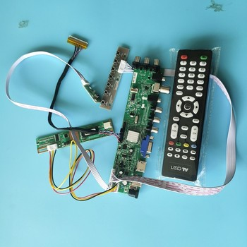 B154EW02 用V6/B154EW02 V0 HW3A 1280X800 1 ccfl液晶デジタルhdmiパネルテレビのvga、usb avコントローラボードDVB-C dvb-t 30pin