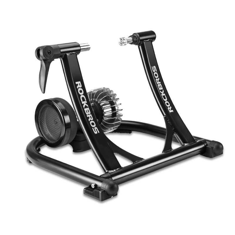 ROCKBROS دراجة ممارسة الصامت السائل المقاومة الدراجة المدرب الجبلية الطريق دراجة داخلي اللياقة البدنية المنافسة للطي التدريب الرف