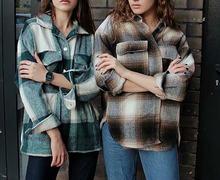 Модная женская мягкая Толстая рубашка 2020 клетчатые женские