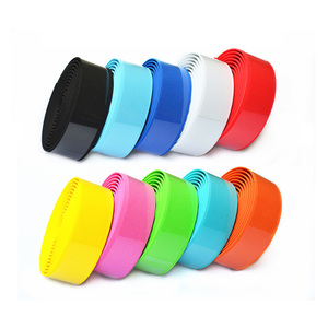 Color Bike Handlebar Tapes Bianchi Red Pink Green Blue Yellow White Bicycle Bar Tape(China)