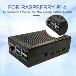 EastVita подходит для Raspberry Pi 4 Металлический корпус защитный корпус чехол r20