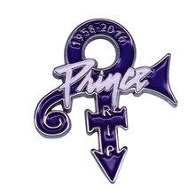 RIP Prince Pin Purple Rain Love значок символа Music Memorabilia Jewelry