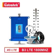 جهاز مقوي إشارة الهاتف المحمول Lintratek 70dB بتقنية الجيل الرابع 4G LTE B3 FDD 1800MHz جهاز إعادة الإرسال الخلوي 4G مع مجموعة هوائي S6