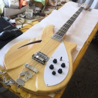 bass electric guitar, 4005 4 strings bass guitar,natural color, free shipping