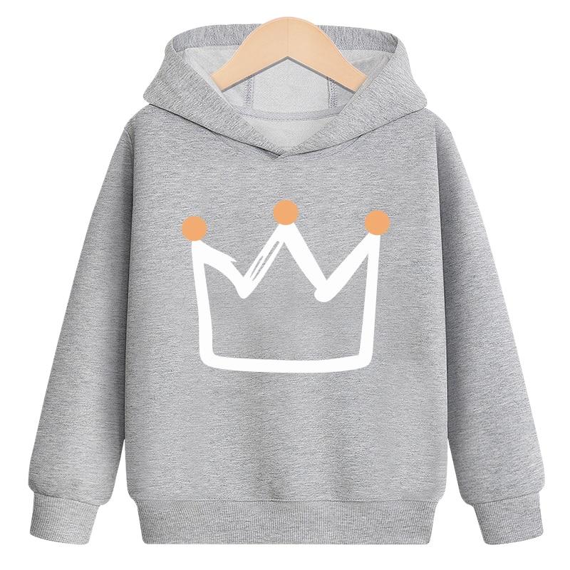 Sweater Toddler Boys Girls Sweatshirt Casual Hoodies Fashion Spring autumn Cartoon Print Baby Hooded Children Clothes New 2021 4